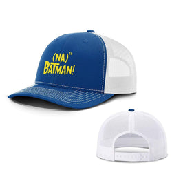 BustedTees.com Snapback / Royal Blue and White / One Size Hero Song Hats