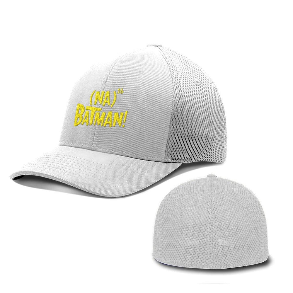 BustedTees.com Flexfit / White / S/M Hero Song Hats