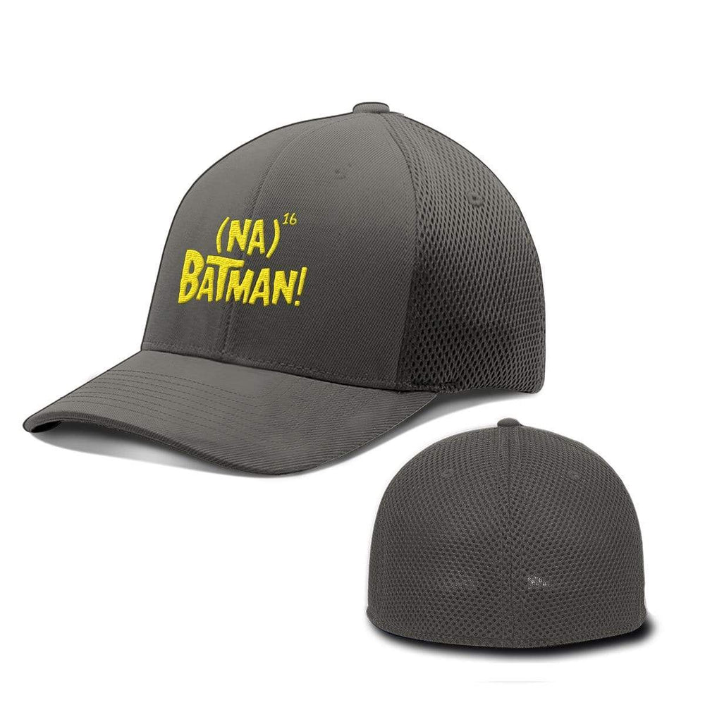 BustedTees.com Flexfit / Charcoal / S/M Hero Song Hats