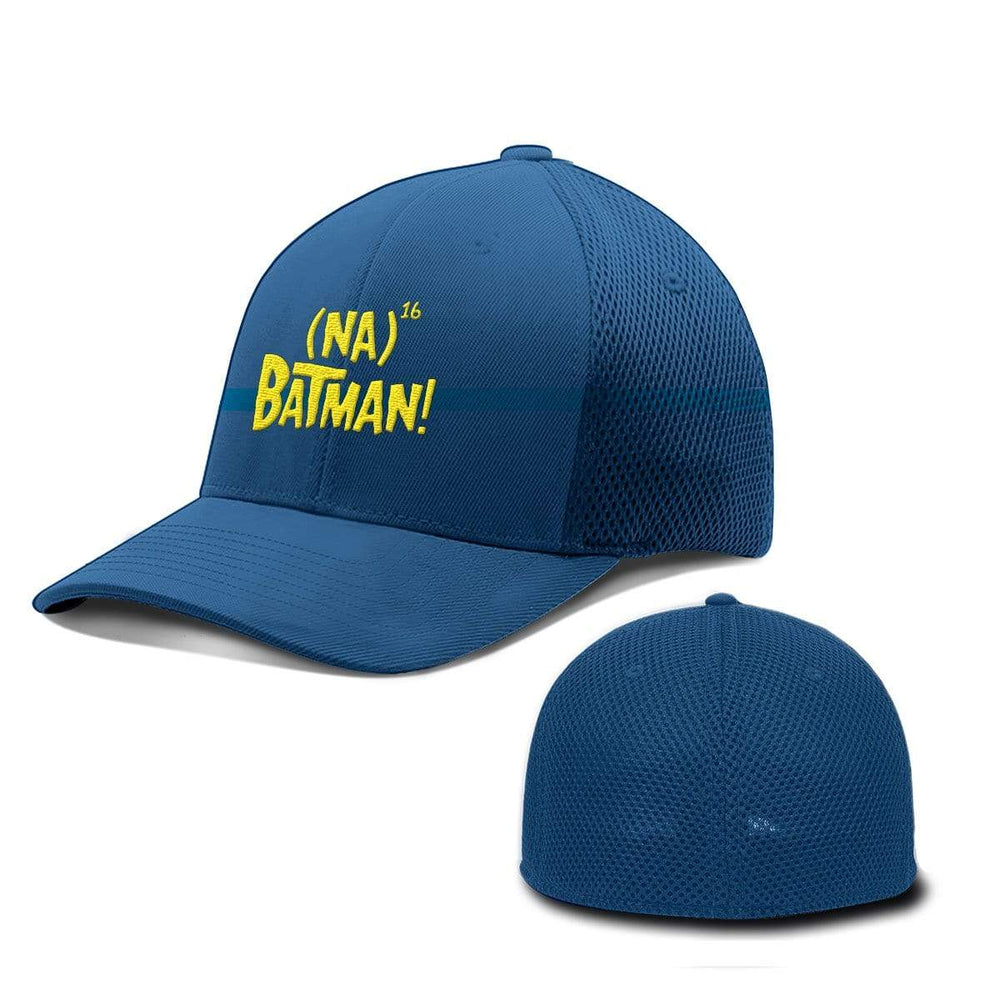 BustedTees.com Flexfit / Royal Blue / S/M Hero Song Hats