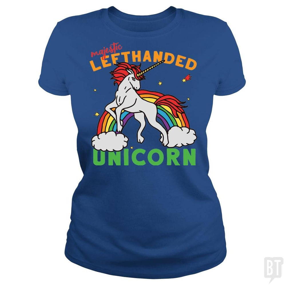 I'm Left Handed Unicorn T-Shirt