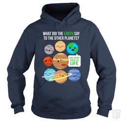 Cute Funny March Science Pun T-shirt Astronomy Pla
