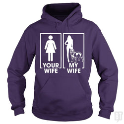 Your Wife My Wife Pitbull Shirt