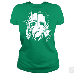 Horror Movie Mashup T Shirt