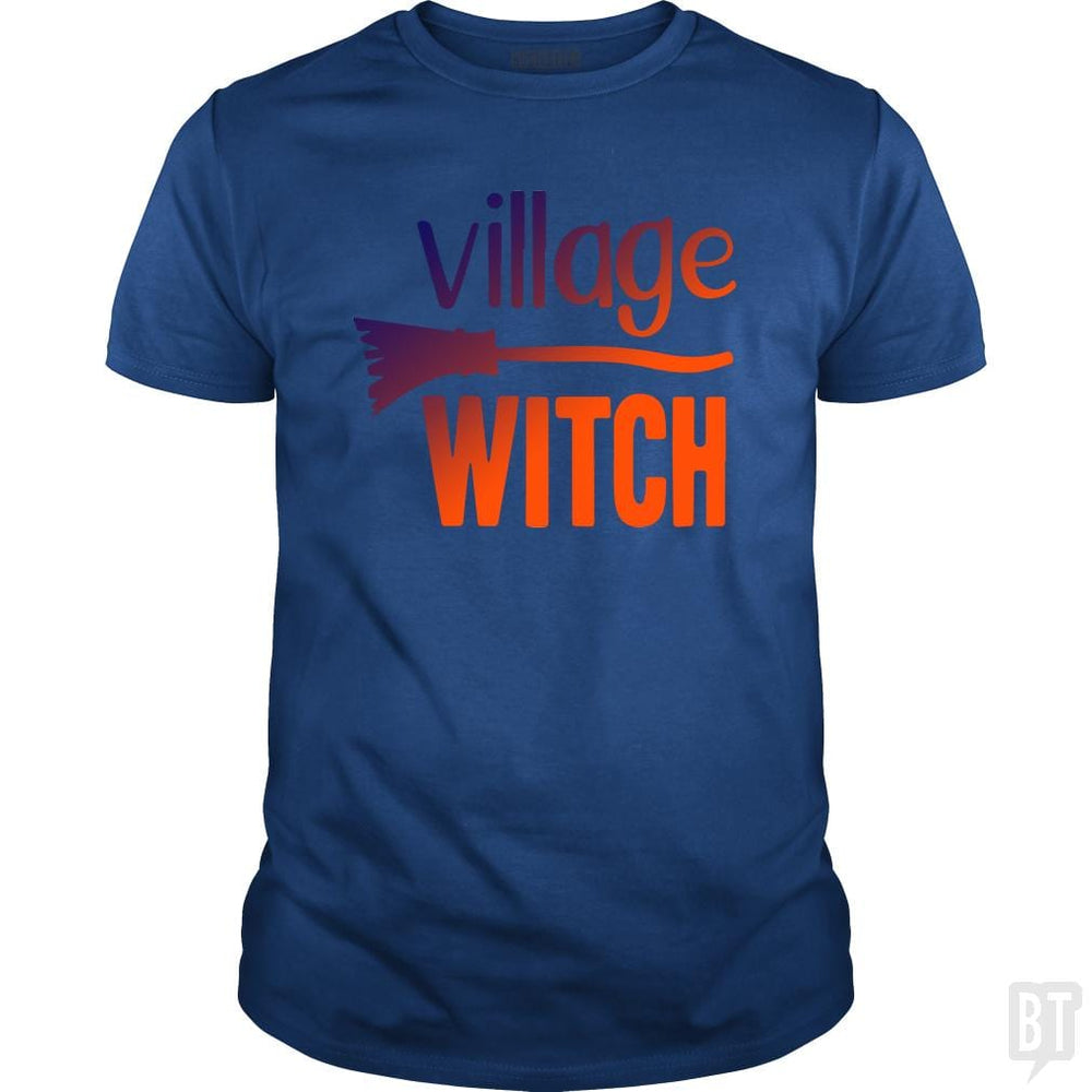 Funny Village Witch Halloween Shirt