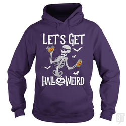 Funny Halloween Skeleton Drinking Beer Shirt