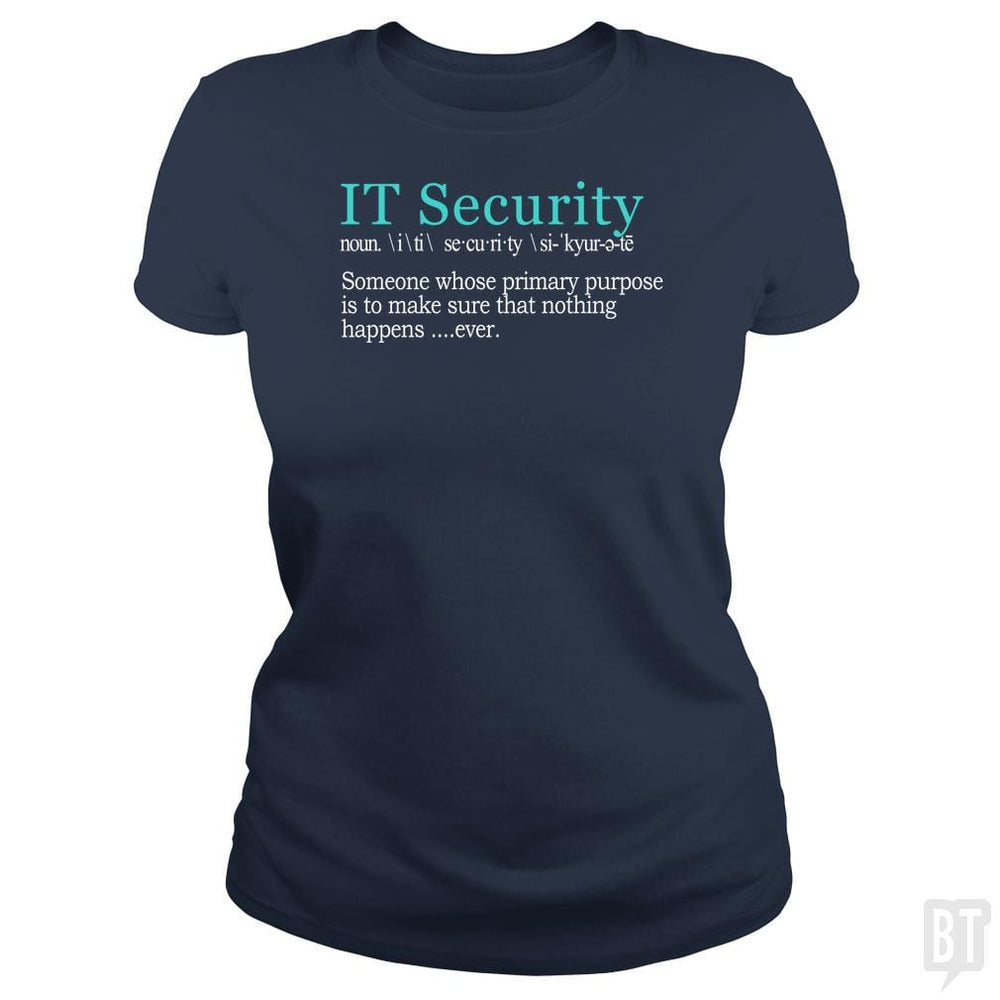 Best Funny IT Security Cybersecurity Definition Gi