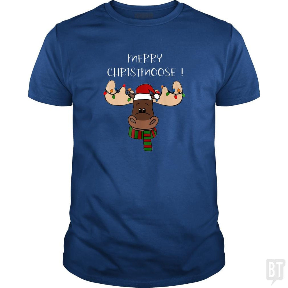 Merry Christmoose Shirt, Moose pun Funny Christmas