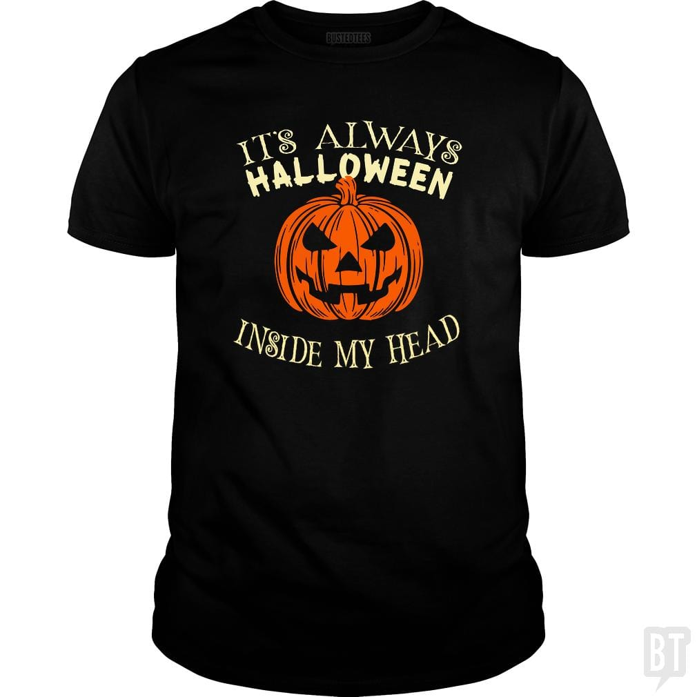 It's Always Halloween Inside My Head Funny Sayings