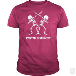 Funny Skeleton Dabbing Everyday Is Halloween Shirt