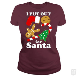 I Put Out For Santa Funny Christmas Gift