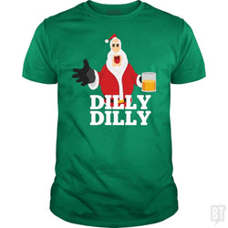 Funny Santa Dilly Dilly Christmas Drinking Gift