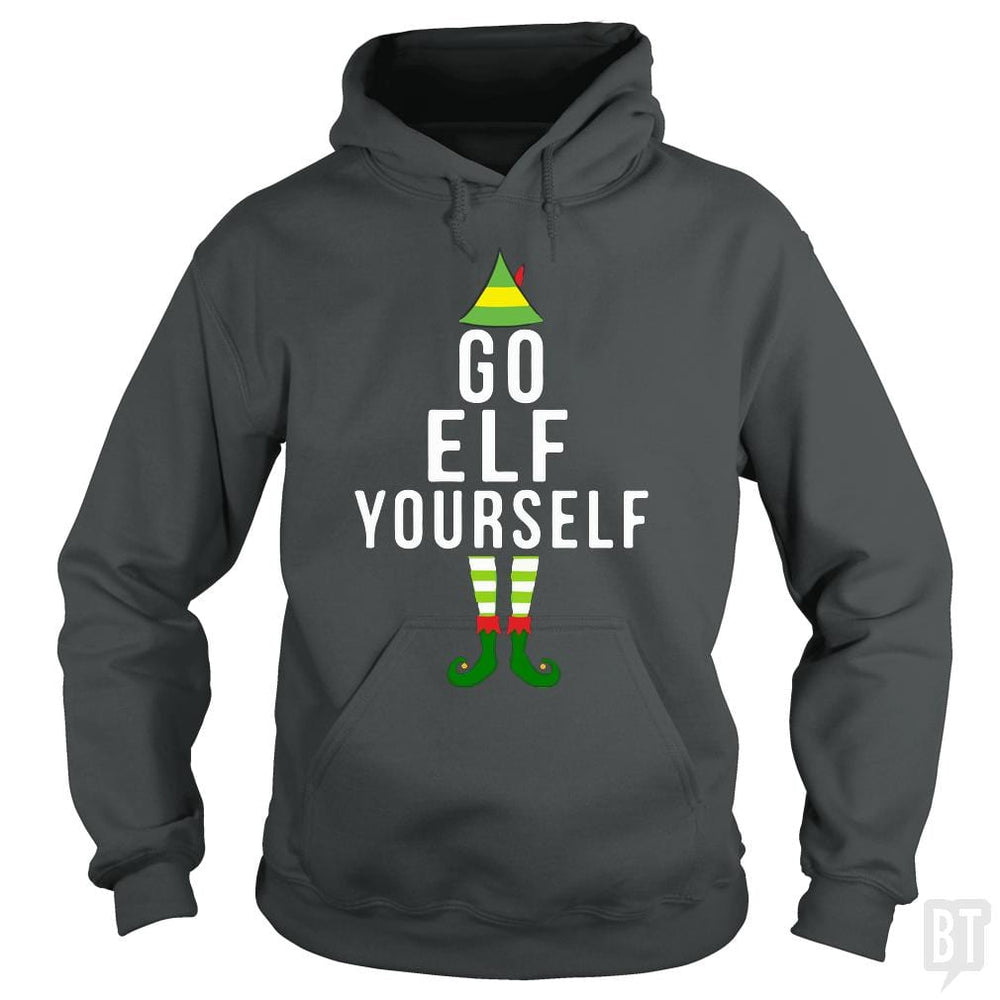Funny Go Elf Yourself Christmas Costume T-Shirt