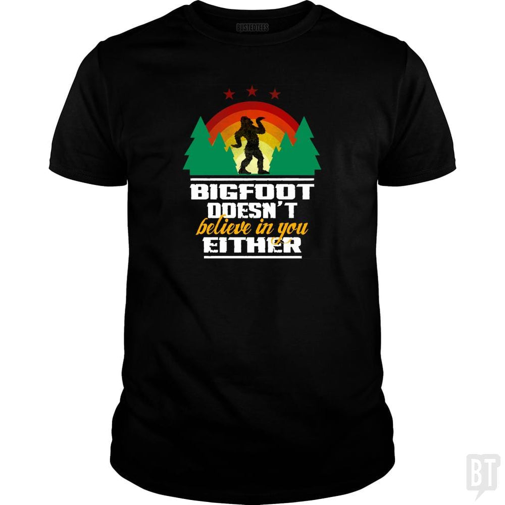 Bigfoot Doesn't Believe