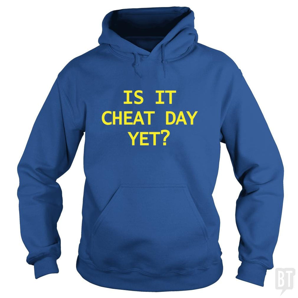 is it cheat day yet?