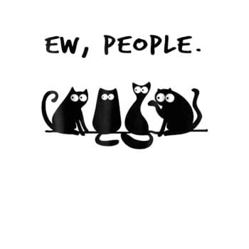 Funny Cat Ew People