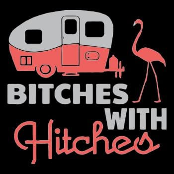 Bitches with hitches t shirt