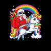 Funny Santa Ridding Unicorn Christmas Gift