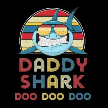 Daddy Sharks Tshirt