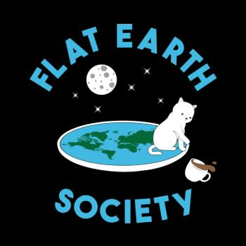 Flat earth society cat version