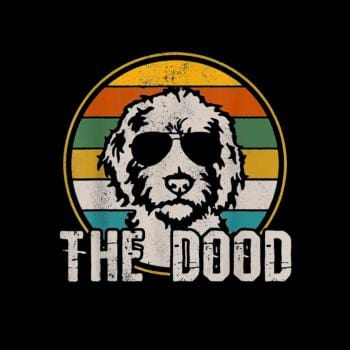 The Dood Vintage Retro Dog