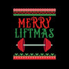 Awesome Merry Liftmas Weightlifting Christmas