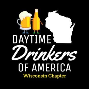 Wisconsin Day Drinking T-Shirt Funny Beer Drinking