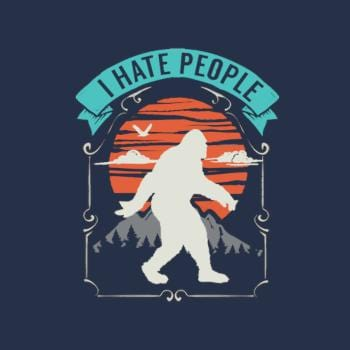 I Hate People - Bigfoot Hiding In The Mountains