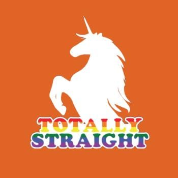 Totally Straight Unicorn Shirt