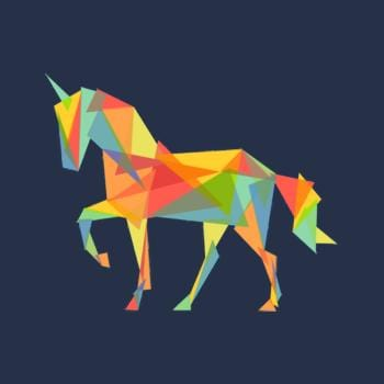 Fractal Geometric Unicorn