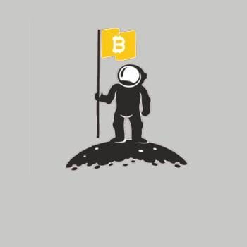 Bitcoin To The Moon Tee Bitcoin Shirt