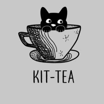 SunFrog-Busted Adames Kit-Tea Funny Cat Lover
