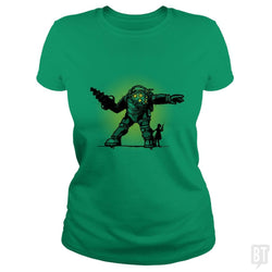 SunFrog-Busted AndreusD Classic Ladies Tee / Irish Green / S Pair Bond