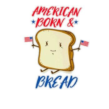 SunFrog-Busted Anjaka American Born and Bread, Independence Day