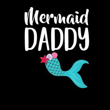 SunFrog-Busted Anjaka Mens Merdad Birthday Party Dad Girl MERMAID DADDY