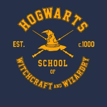 SunFrog-Busted Artpunk101 Hogwarts - School of Witchcraft and Wizardry