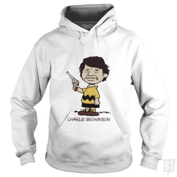 SunFrog-Busted artwerks Hoodie / White / S Charlie Brownson