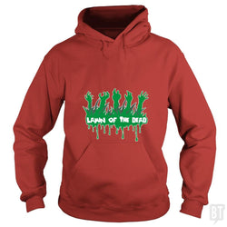 SunFrog-Busted artwerks Hoodie / Red / S Lawn Of The Dead