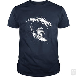 SunFrog-Busted Classic Guys / Unisex Tee / Navy Blue / S Astronaut Astronomer Science Explore Space Adventu
