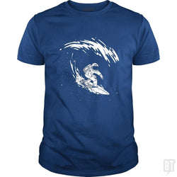 SunFrog-Busted Classic Guys / Unisex Tee / Royal Blue / S Astronaut Astronomer Science Explore Space Adventu