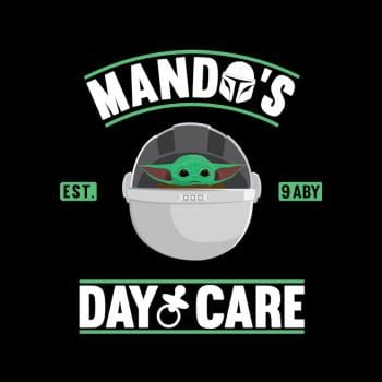 SunFrog-Busted Bomdesignz Mando's day care