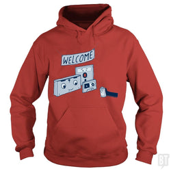 SunFrog-Busted BustedTees Hoodie / Red / S Analog Retirement