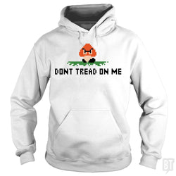 SunFrog-Busted BustedTees Hoodie / White / S Don't Tread On Me