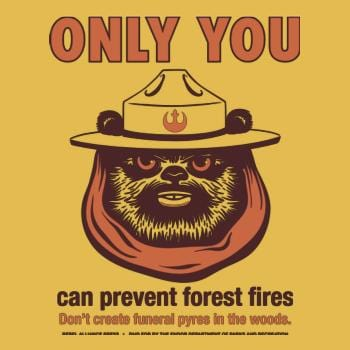 SunFrog-Busted BustedTees Ewok PSA