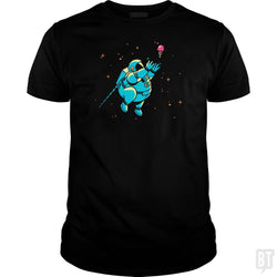 SunFrog-Busted BustedTees Classic Guys / Unisex Tee / Black / S Fatstronaut