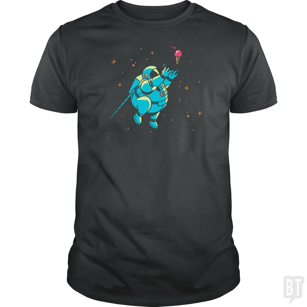 SunFrog-Busted BustedTees Classic Guys / Unisex Tee / Dark Heather / S Fatstronaut