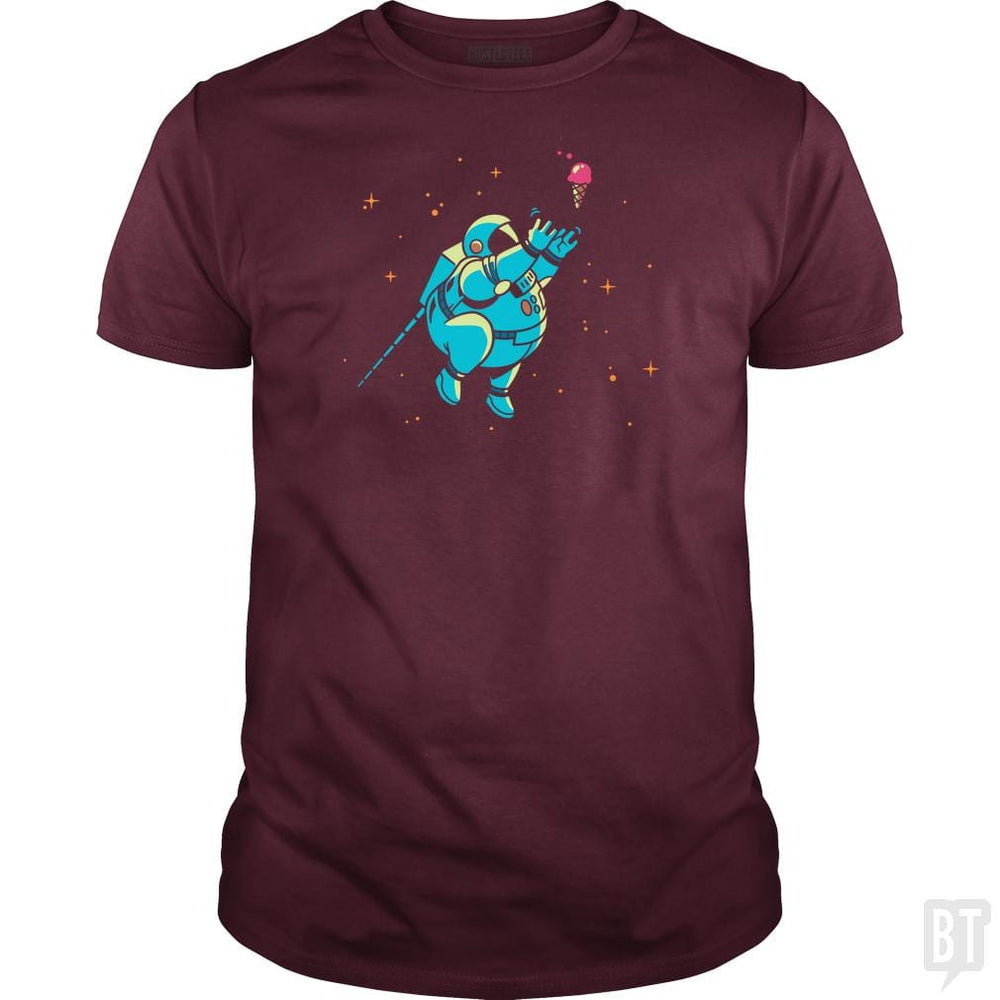 SunFrog-Busted BustedTees Classic Guys / Unisex Tee / Maroon / S Fatstronaut