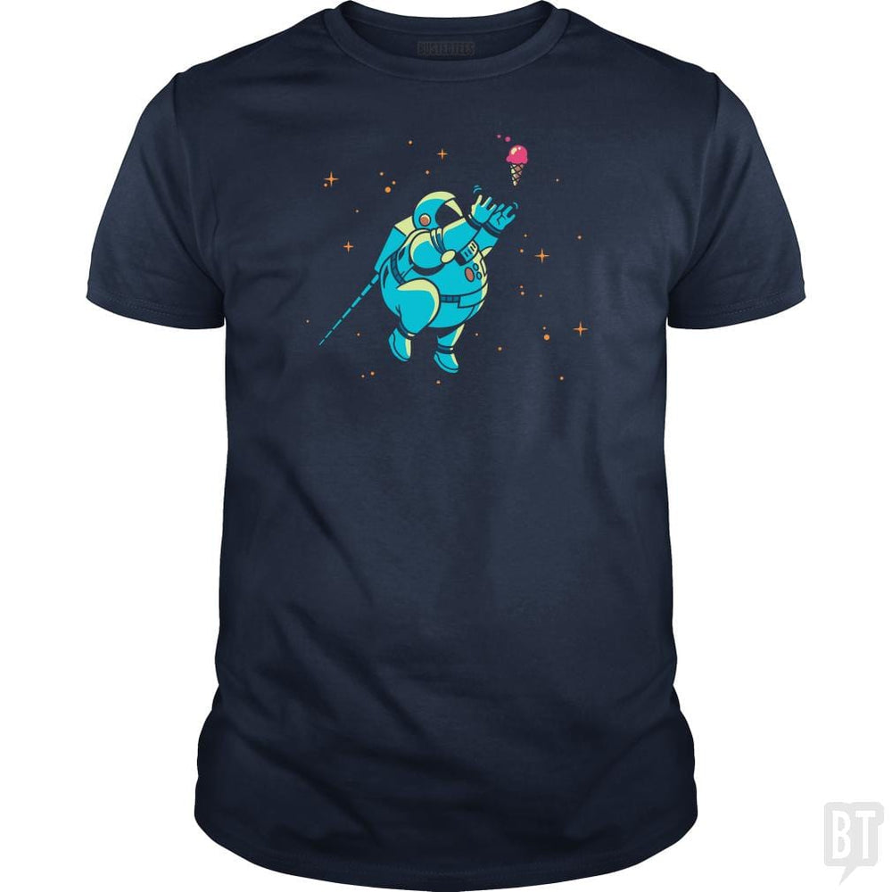 SunFrog-Busted BustedTees Classic Guys / Unisex Tee / Navy Blue / S Fatstronaut
