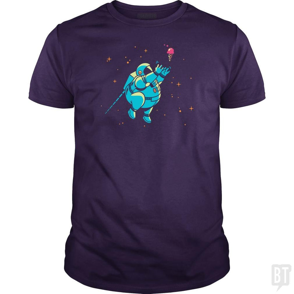 SunFrog-Busted BustedTees Classic Guys / Unisex Tee / Purple / S Fatstronaut