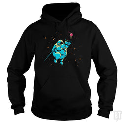 SunFrog-Busted BustedTees Hoodie / Black / S Fatstronaut